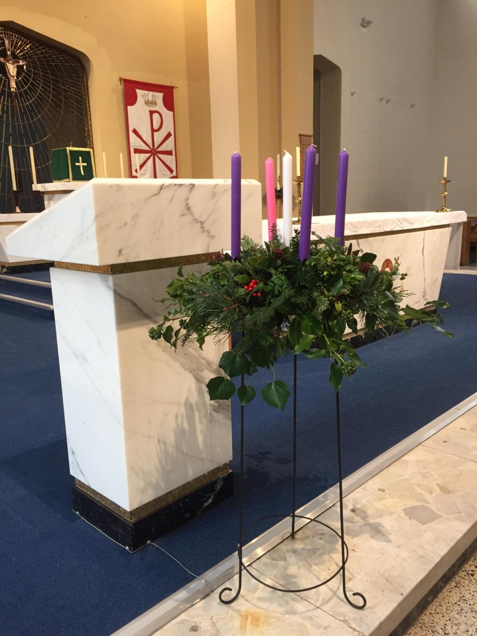 2020-11-29 Advent Wreath
